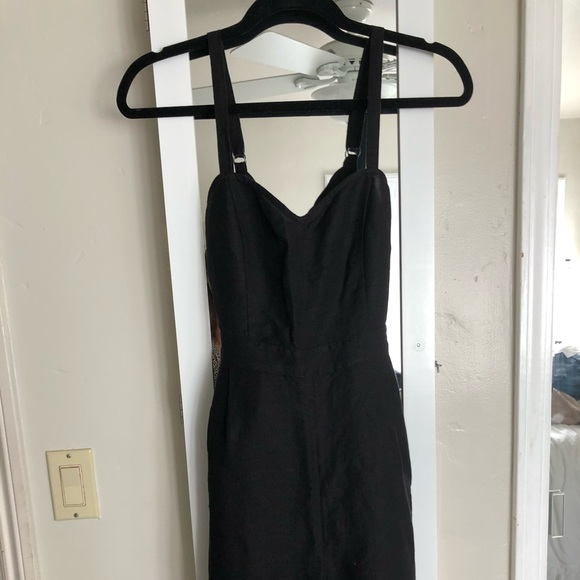 Express Pants - New Blk sweetheart linen jumpsuit